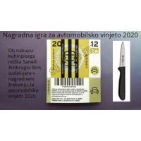 Sanelli Ambrogio Supra kuhinjski vsestranski nožek 9 cm (NAGRADNA IGRA ZA AVTOMOBILSKO VINJETO 2020!)