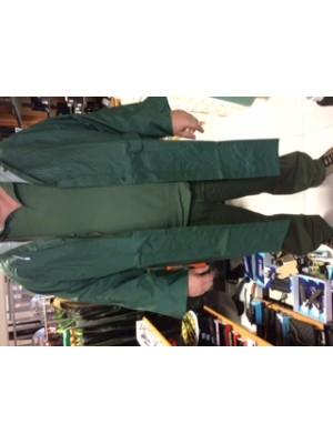 Dežni plašč - PVC - v zeleni barvi