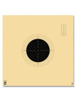Tarče za MK pištolo in puško 50m, 34x34cm, num. (250)
