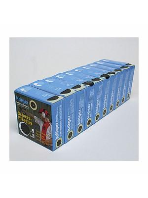 Nalepke za pokrivanje lukenj na tarči, fi 19mm, bež barve (1000)