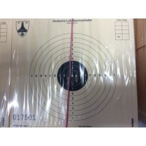 Tarče za zračno orožje 10m, 12x12cm, num. (1000)