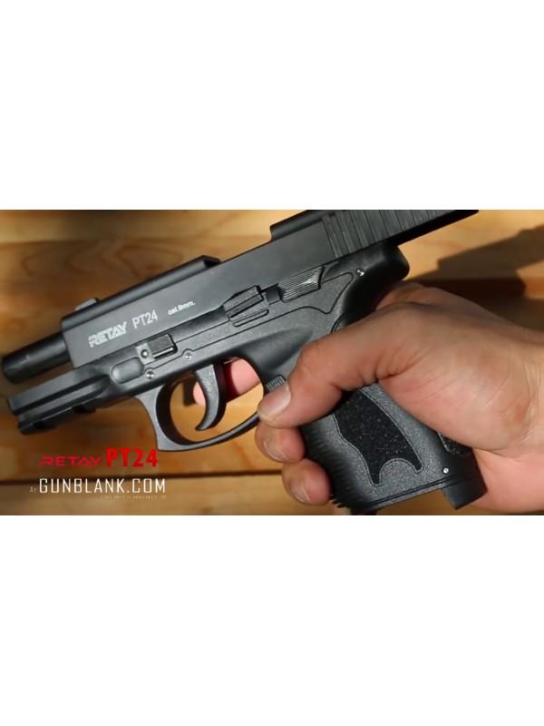 Retay blank gun, model: PT24 Top Firing, kal  9mm PAK - 15schuss