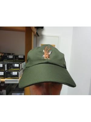 Lovska kapa (zelena z lovskim motivom)