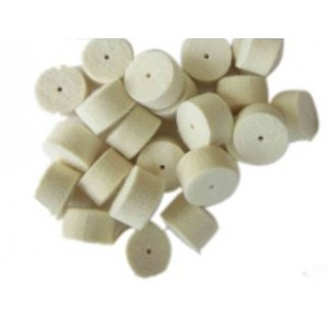 Čistilni čepki iz filca (merino volne), kal. 20 (za šibrenice)