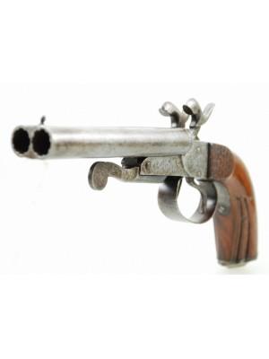 Lefaucheux rabljena zbirateljska dvocevna pištola, kal.11,9mm