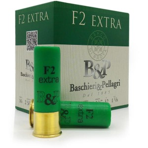 Baschieri & Pellagri lovsko šibreno strelivo F2 Extra 16/70 32T - 4 = 3,1mm