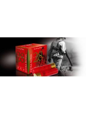 Baschieri & Pellagri šibreno lovsko strelivo Extra Rossa 28 28/70 22T 9,5 = 2mm