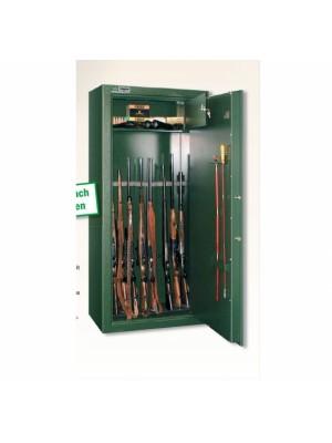 PRIHAJA!!! Rabljeni vrhunski trezor - omara za shranjevanje orožja (10 kosov dolgocevnega orožja)