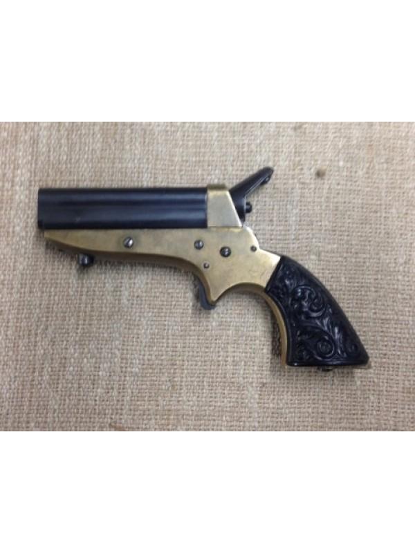 Hege Uberti rabljeni malokalibrski revolver, model: New Derringer , kal 22  Short (Ser št : 12920)