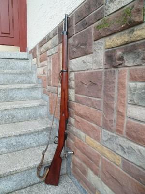 Carl Gustafs rabljena vojaška risanica švedski mauser, Model:96, kal. 6,5x55