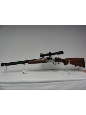 Heym rabljena kombinirka, model: 22F, kal. 20/70 - 5,6x50R Mag. + Zeiss strelni daljnogled 4x32