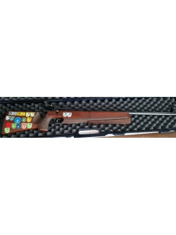 Anschutz rabljena malokalibrska tekmovalna risanica, model: Match 54, kal   22LR + dioptri