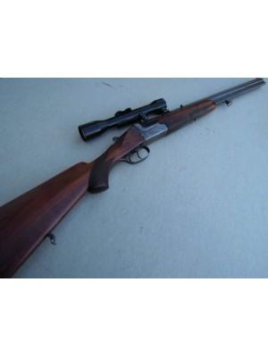 Merkel rabljena kombinirana puška, kal. 7x57R in 16/70 + SEM montaža + strelni daljnogled ZEISS ZF 4