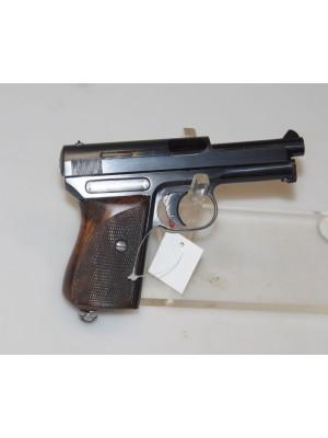 Mauser rabljena polavtomatska pištola, model: 1910/34, kal. 7,65mm