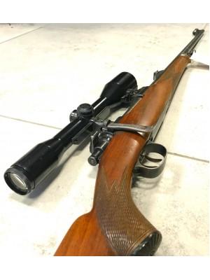 Mauser rabljena repetirna risanica, kal. 6,5x57 + strelni daljnogled Hensoldt Wetzlar 6x42 + SEM montaža