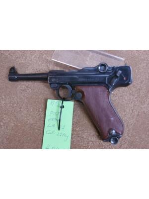 Erma rabljena malokalibrska pištola, model: LA 22, kal.22LR (kopija Luger P08) (SER.Št.: 09089)