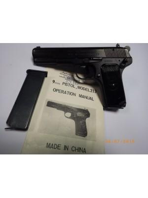 Norinco rabljena polavtomatska pištola, model: 213, kal.9mm para (SER.ŠT.: 209948)