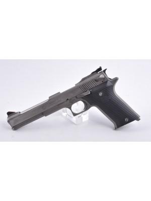 """AMT rabljena polavtomatska malokalibrska pištola, model: AutoMag II, kal.22 Mag. s 6"""" cevjo"""