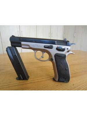 """CZ Češka Zbrojovka rabljena polavtomatska pištola, model: 75, kal.9mm para s 5"""" cevjo (DUOTONE izvedba pištole - dvobarvna)"""