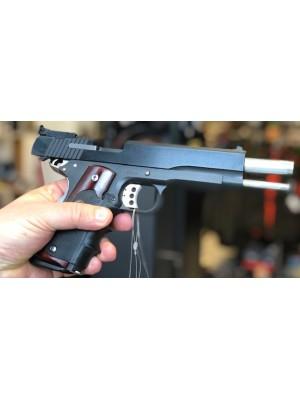 "Peters Stahl malo rabljena, vrhunska  tekmovalna pištola, model: 1911, kal. 9x19  (6"" cev)"