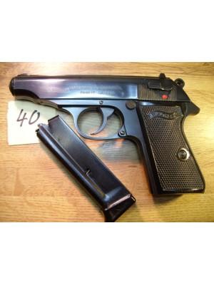 Walther rabljena malokalibrska pištola, model: PP, kal.22LR