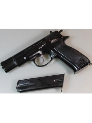 """CZ Češka Zbrojovka rabljena polavtomatska pištola, model: 75, kal.9mm Para s 4"""" cevjo"""