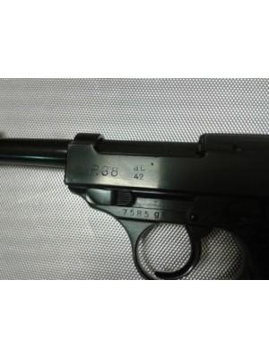 Walther rabljena vojaška zbirateljska pištola, model: P 38, kal.9mm para