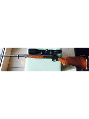 New England rabljena enostrelna prelamača, model: SB2, kal. 30-06 + strelni daljnogled Lisenfeld 8x56