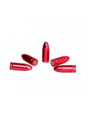 Slepi naboji aluminij rdeč eloksirani kal.9mm