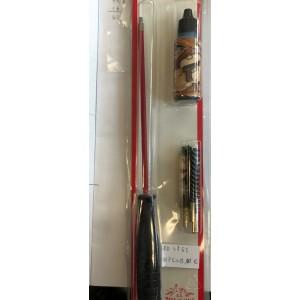 Komplet za čiščenje orožja za pištole ali revolverje (kal. 9mm, .357 Mag., .38 Spec.) + olje