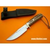 Muela lovski nož Braco z usnjenim etuiem (NI NA ZALOGI)