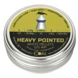 Strelivo za zračno orožje 6,35 Coal 125WPHP635 heavy pointed