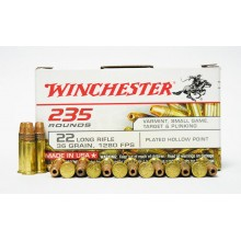 Winchester malokalibrsko strelivo .22LR PHP (plated hollow point)