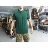 Majica polo s kratkimi rokavi zelena