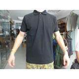 Majica polo s kratkimi rokavi črna