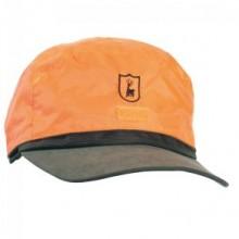 Deerhunter zimska obrnljiva kapa šilterica temno zelena-oranžna z vodoodbojno membrano