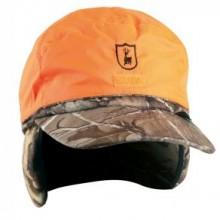 Deerhunter zimska obrnljiva kapa šilterica realtree zelena-oranžna z vodoodbojno membrano