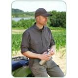 Deerhunter srajca Evan Bamboo z dolgimi rokavi (velika številka: 47/48 - 3XL)