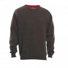 Deerhunter volneni pulover Hastings O-izrez rjav (prava volna od jagenjčka) (8840)