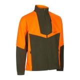 Deerhunter flis jakna oranžno-zelena Schwarzwild III