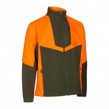 Deerhunter, model: 5495, flis jakna oranžno-zelena Schwarzwild III
