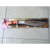 Mačeta 40cm rezilo z oranžnim ročajem + etui iz kordure