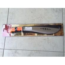 Machete 40cm blade with orange handle + cordura sheath