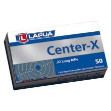 Lapua Center-X malokalibrsko strelivo kal. 22 LR