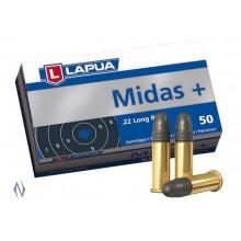 Lapua Midas+ malokalibrsko strelivo kal. 22 LR