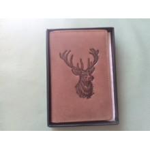 Usnjeni etui za dokumente lovski motivi