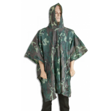 Poncho hunting waterproof in camo color