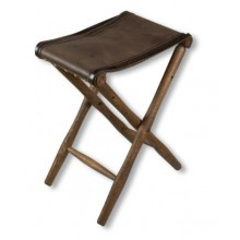 Chair Wood-Leather Without back 48cm