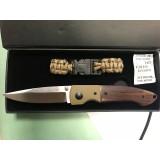 Puma preklopni nož + parakord zapestnica