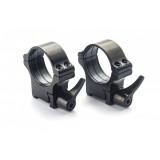 Rusan quick-release montaža 1 par obročev (prizma: 16,5 mm) 25,4 mm, višina H14